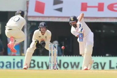 India vs. England : The English team concedes defeat before day 2 ends